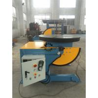 Buy cheap Elbow Rotary Welding Positioner Table Foot Pedal 1000KG Tilting  Capacity product