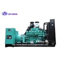 Buy cheap 1250kVA Cummins Diesel Generator , Open Type Diesel Generator Easy Use from wholesalers
