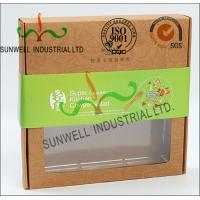 Buy cheap Rigid Kraft Paper Cardboard Food Packaging Boxes With Art Paper Wraped Finished product
