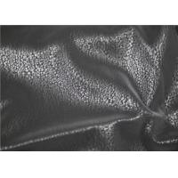 Buy cheap Eco - Friendly Faux Suede Leather , PU Leather Flocking Fabric Abrasion Resistant product