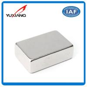 Buy cheap 10000 Gauss Block Neodymium Permanent Magnets Sintered NdFeB N35 N45 N52 product