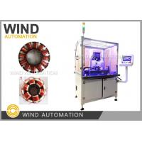 Buy cheap Inslot Outrunner Stator Winding Machine Four Axis Servo 7kw Awg18 / Awg38 product