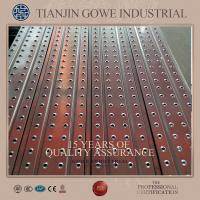 Buy cheap Pre galvanized Welding Metal Scaffold Planks For contruction industry from Wholesalers