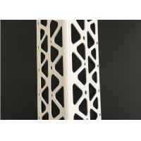 Buy cheap Anti Uv White Color Pvc Corner Bead Plastic Extrusion Profiles 10 Ft /8 Ft Length product