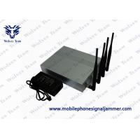 Buy cheap Efficient Wifi Blocker Jammer , Cell Phone Wifi Jammer 2.4G 5.8G Block Frequency product