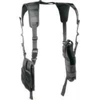 Buy cheap Nylon Tactical Gun Holsters / Horizontal Shoulder Holster Mag Pouch product