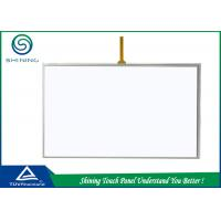 Buy cheap 4 Wire Resistance Touch Panel Analog Touch Screen Digitizer Glass Lens product