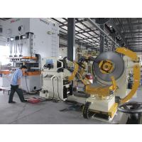 China High Speed Steel Coil Uncoiler / Automobile Stamping Punch Servo Feeder on sale