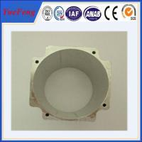 China structural aluminum extrusions electronic product with powder coating on sale