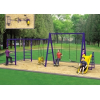 Buy cheap Face To Face Baby ASTM Swing And Slide Set product