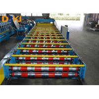 Buy cheap Hydraulic Metal Glazed Tile Making Machine, Roof Tile Forming Machine product