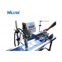 Buy cheap Continuous Self Cleaning Small Character Inkjet Printer Machine For Date Number from wholesalers