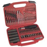 Buy cheap 117pcs Combination Screwdriver Bit Set with HSS Twist Drills / Mansary Drills / Wood Drills product