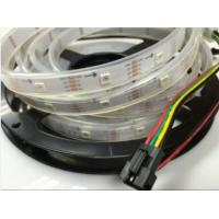 Buy cheap Flex RGB Led Decorative Strip Lights Dimmable 60led/m Build in IC Addressable product