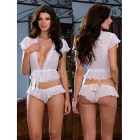 Quality Sheer Satin Eco Friendly Knot Personalised Bridal Underwear for sale