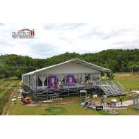 Buy cheap Custom Design Outdoor Wedding Marquees Tent  With Adjustable Flooring System from Wholesalers