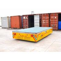 Buy cheap Rubber Wheels Trackless Turnning Self-driven Cart For Port Transportation product