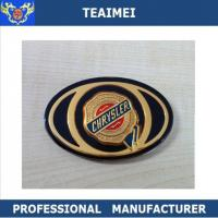 Luxury Car Badge Logos Stickers , Chrysler Car Front Grill Emblems