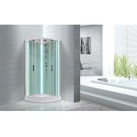Buy cheap Free Standing Quadrant Shower Cubicles With Transparent Tempered Glass Fixed Panel product