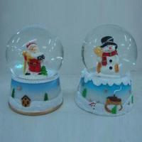 China Polyresin Christmas Crafts, Ideal for Promotional Gifts Purpose, Customized Designs Welcomed on sale
