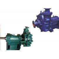 China Low Pressure Electric Slurry Pump / Slurry Sump Pump One Stage Structure WA on sale