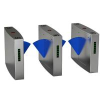 Buy cheap Full Automatic Electronic Turnstile Gates Door Bidirectional Security Flap Barrier With RFID Interface product