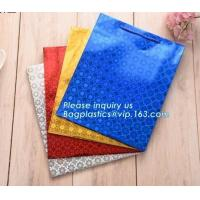 Luxury Art Paper Flower Carrier Bag with Rope Handle,Fashion kraft paper flower carrier paper bag,Fashion square kraft p