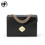 Buy cheap Black color wild messenger bag custom messenger sling bags hot sell Spring bag purse handbag product