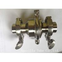 Buy cheap Sanitary Elbow Valves Stainless Steel Valves And Fittings ASTM A270 from Wholesalers