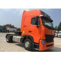 Buy cheap Euro 2 Tractor Trailer Truck / Large Capacity HOWO Tractor Dump Truck product