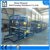 Buy cheap Roofing Sandwich Panel Production Line Cr12 Cutting Blade Material product