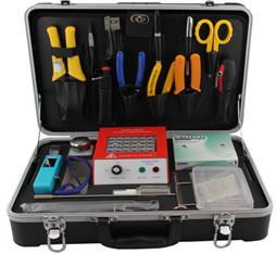 China Professional Fiber Optic Connector Termination Tool Kit , Fiber Optic Installation Tools on sale