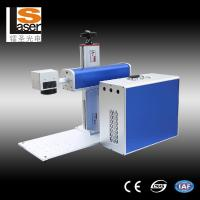 Buy cheap Buttons Fiber Laser Marking Equipment For Metal , Plastic , Wood product