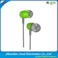 China china best selling electronic products cheap fashion aluminum headphones plastic earbuds on sale