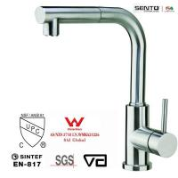Buy cheap SENTO 304 stainless steel single hole kitchen faucet with pull out product