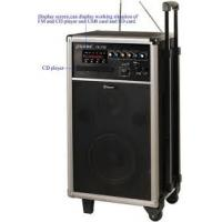 Buy cheap Powerful rechargeable Portable Wireless PA System Amplifier with CD Player for Conference  product