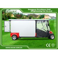 Buy cheap Red 2 Passenger 48V  Electric Ambulance Car For Emergency Closed Type product