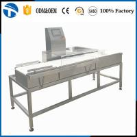 Buy cheap Checkweighing Equipment/Online Weight Check Machine/Automatic Conveyor Check Weigher Price product