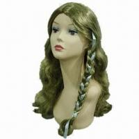 Buy cheap Party Wig, Customized Lengths and Colors are Welcome, with Ponytail product