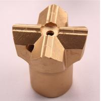 China Small Hole Drilling Tools H25 Threaded Cross Bits 35 - 76mm For Underground Coal Mining on sale