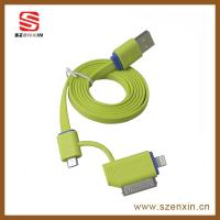 Buy cheap New 3-in-1 Multiple USB Cable for Apple, Android Smartphones product