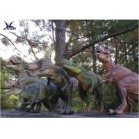 Buy cheap Attractive Robotic Life Size Dinosaur Statues With Dinosaur Alive Roaring Sound product