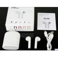 China Bluetooth Earphones Bluetooth headset Wireless Stereo Bluetooth headphone  2018 TWS I7S with Charging box white on sale
