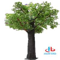 Buy cheap 1.5m-3m Height Artificial Green Plants Synthetic Fake Tree For Indoor And Outdoor Decoration product