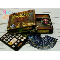 Buy cheap Full Color Printing Popular Family Games / Customized Party Games For Adult from wholesalers