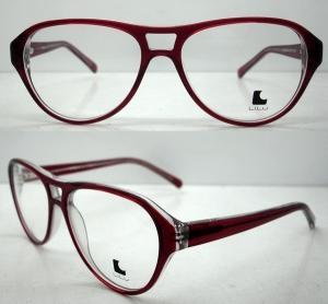 Buy cheap Cool Ladies Retro Large Eyeglasses Frames , Acetate Eyewear Frame product