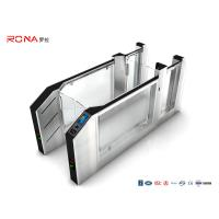 Buy cheap Airport Speed Gate Turnstile RS232 SS With Facial Recognition Fingerprint System product