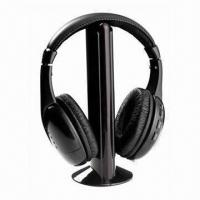 Buy cheap Wireless headphones with FM radio, wireless chat product