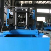 Buy cheap Storage Upright Rack Roll Forming Machine High Efficient For Rack Shelf product