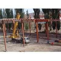 Buy cheap Wire Mesh Roof Steel Frame Warehouse , Welded Industrial Steel Buildings product